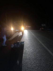 «Між Сокирниця та Хуст збито пішохода», - подробиці нічної ДТП на Хустщині (ФОТО)